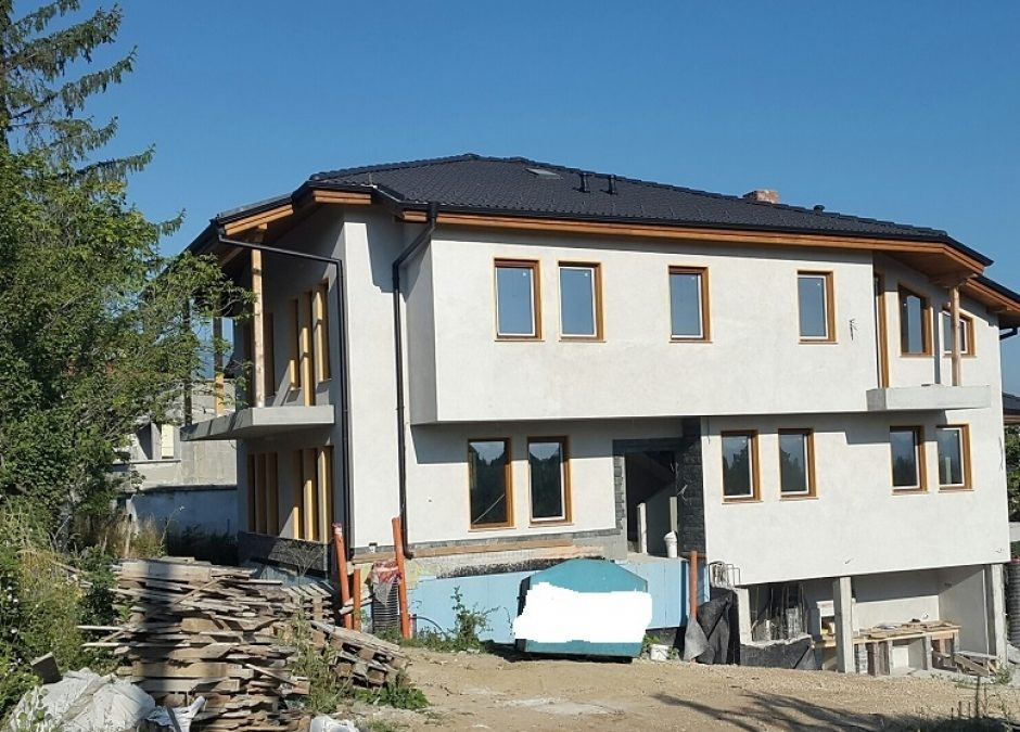 Фасада, покрив, довършителни работи – с. Геман