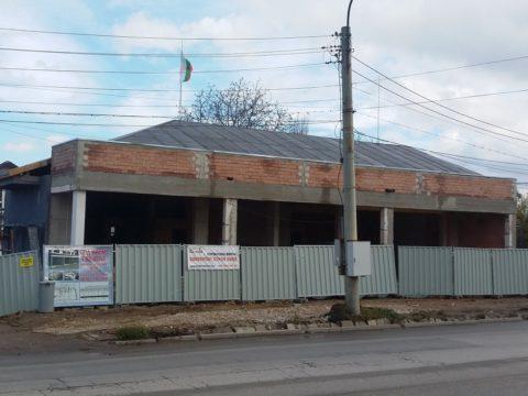 Жилищна сграда с магазини и подземни гаражи кв.Горубляне