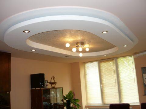 Довършителни работи на окачени тавани